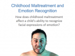 Academic Research: Emotion Recognition