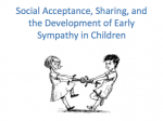 Academic Research: Social Acceptance and Sharing in Children