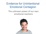 Academic Research- The Transitive Property of Emotions