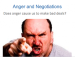 Academic Research- Negotiating Angry