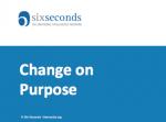 Change on Purpose